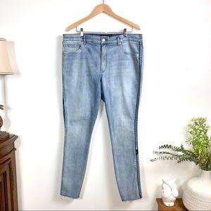 EXPRESS Jeans Perfect Curves Legging Sz 18L EUC